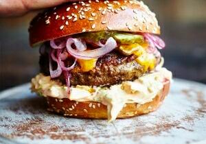 Безумный гамбургер